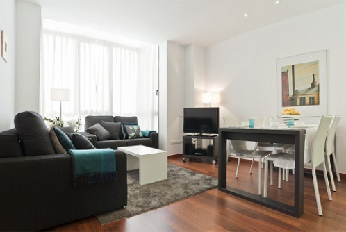 Beautiful two bedroom apartment in Barcelona center
