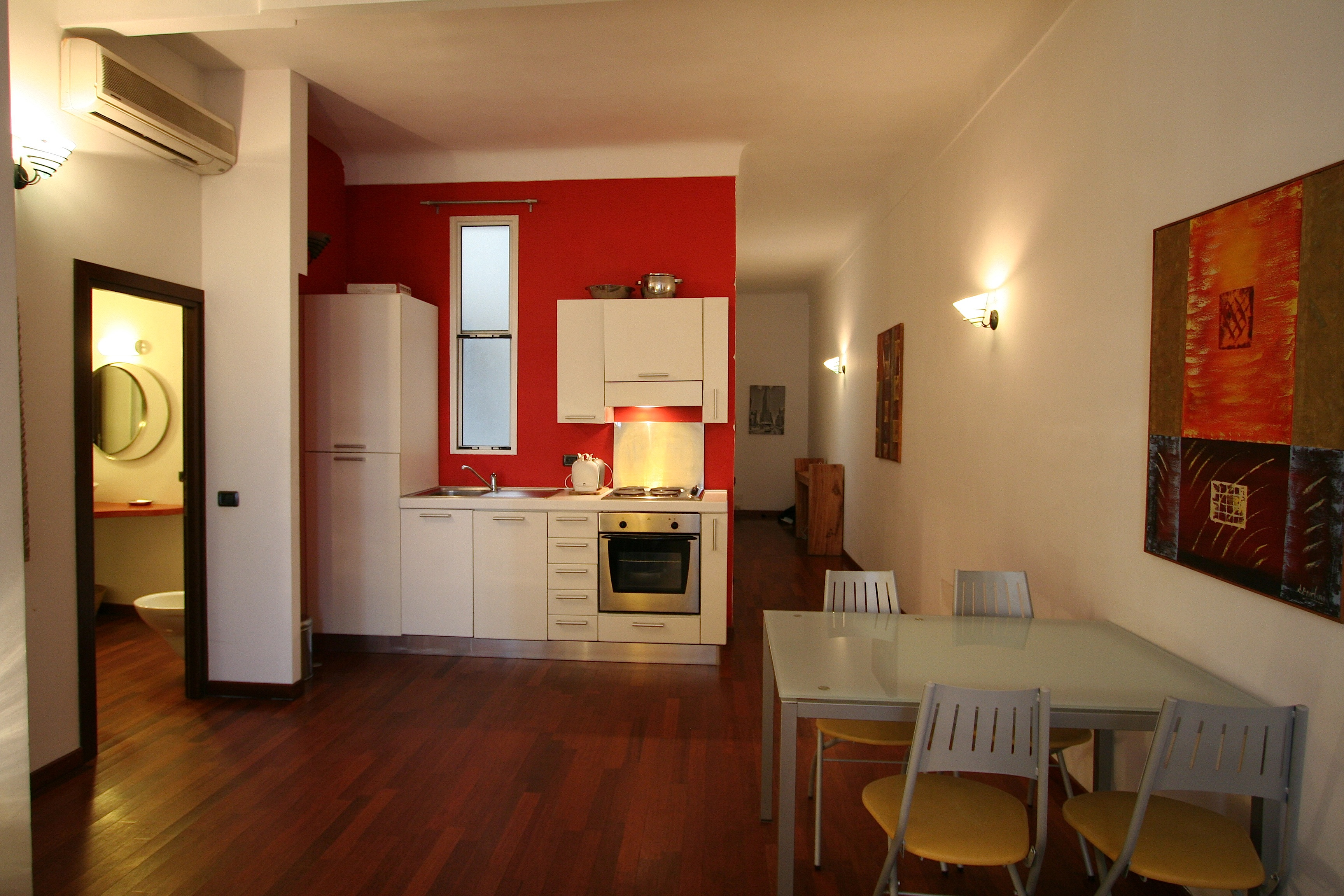 One bedroom apartment located on Rue des Serbes