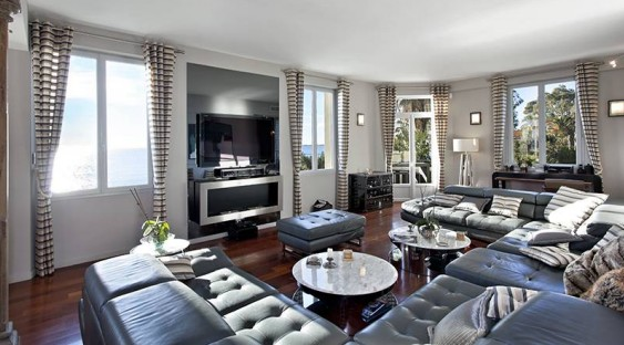 Tastefully renovated 8 bedroom villa close to Cannes