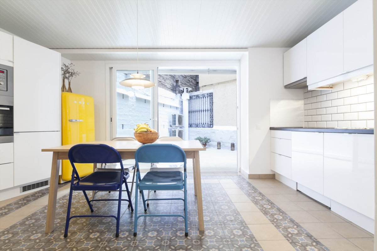 Apartment with terrace in the Eixample