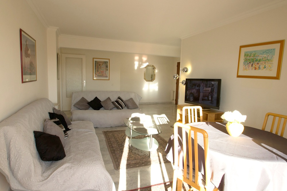 Roomy two bedroom apartment located on rue des Mimosas