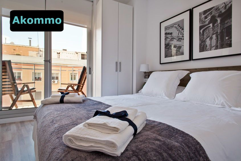 Modern two bedroom apartment in Sants