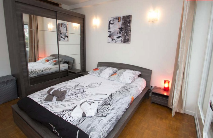 Newly renovated two bedroom apartment in Cannes