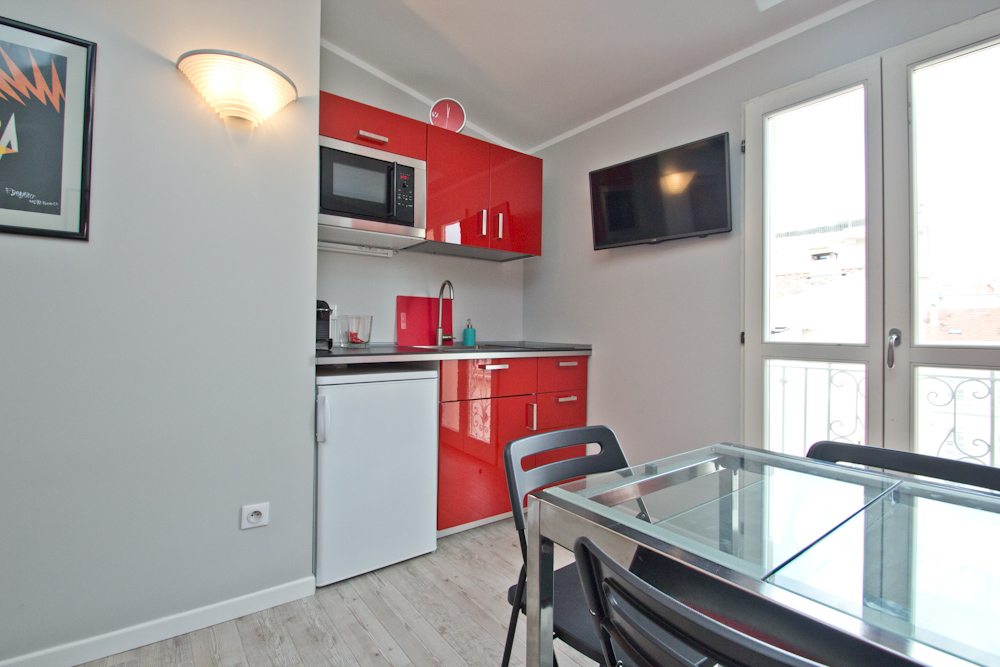 Modern one bedroom apartment two minutes from Palais