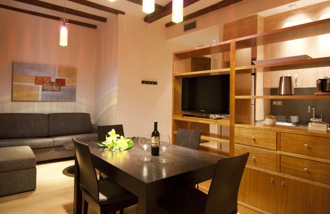 Classic two bedroom apartment in Barcelona
