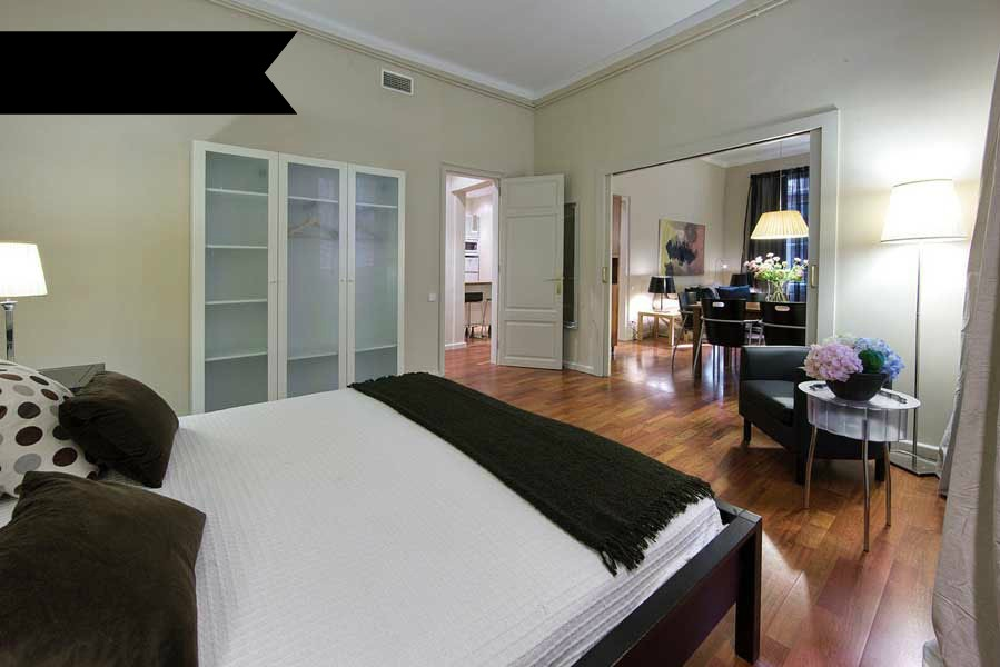 Beautiful three bedroom apartment in Barcelona center