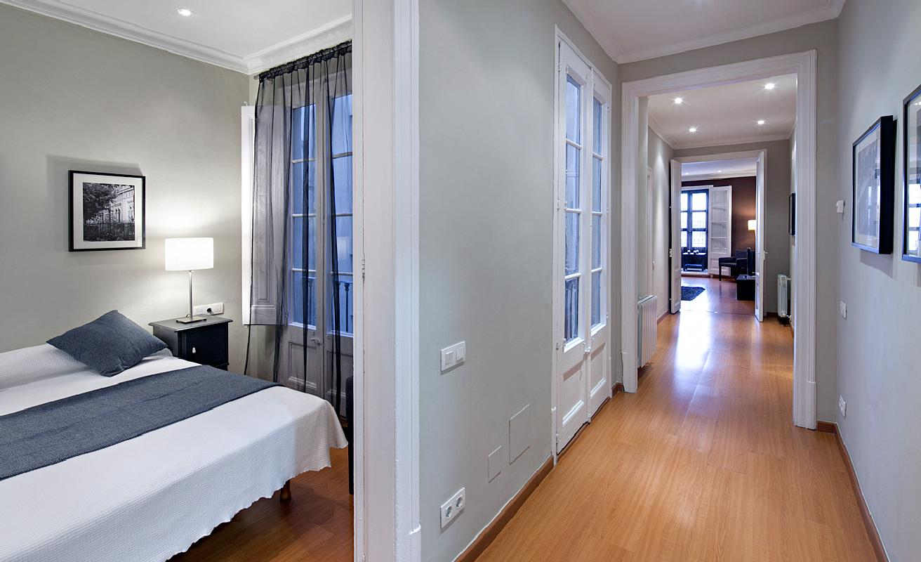 Fabulous three bedroom apartment in Barcelona center