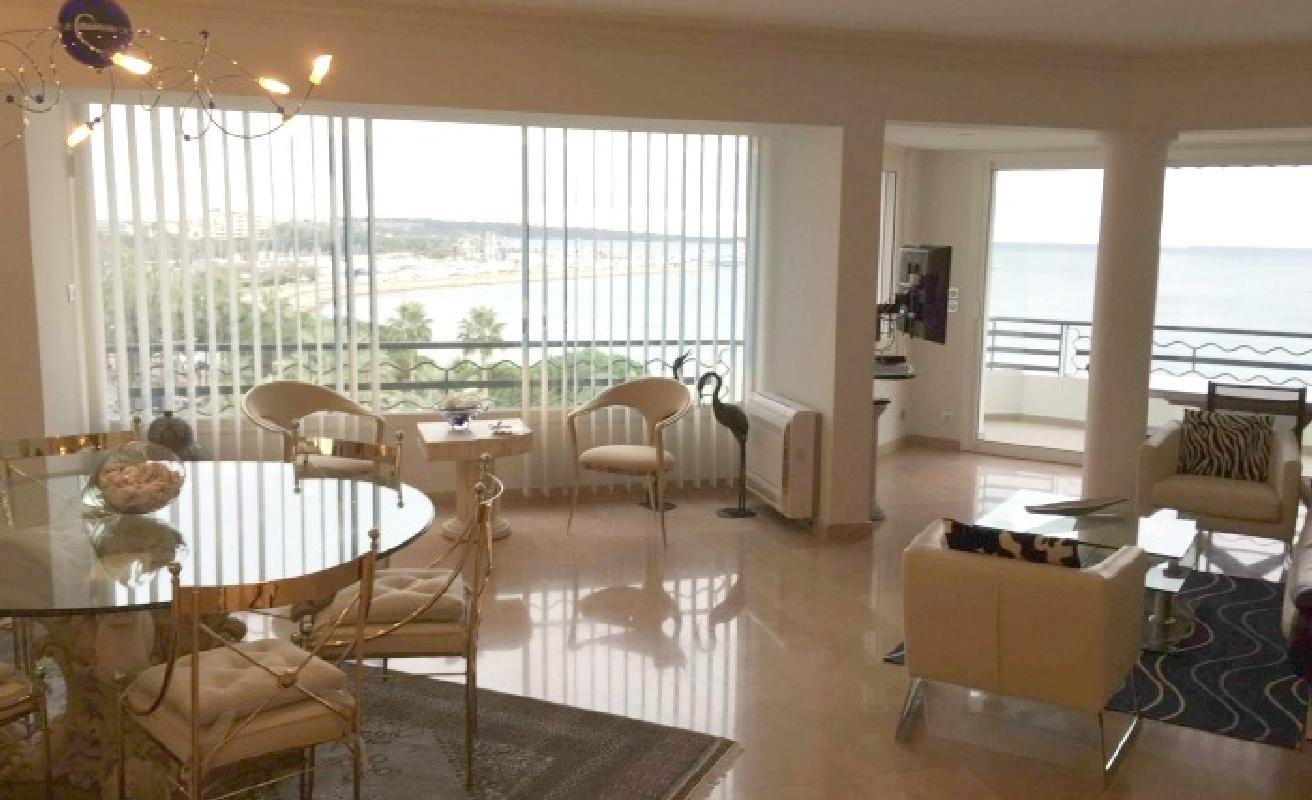 Great three bedroom Croisette loft with sea views