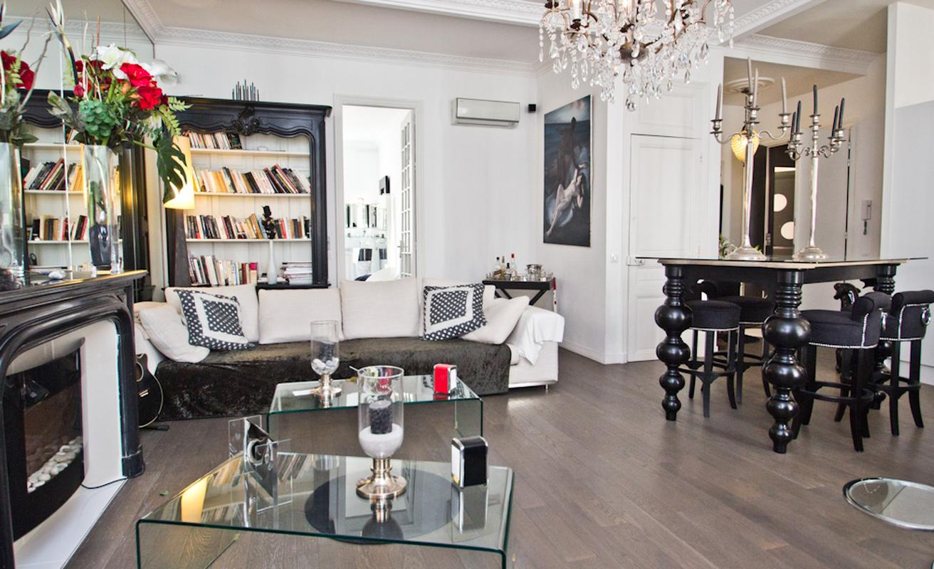 Luxurious three bedroom apartment in Cannes